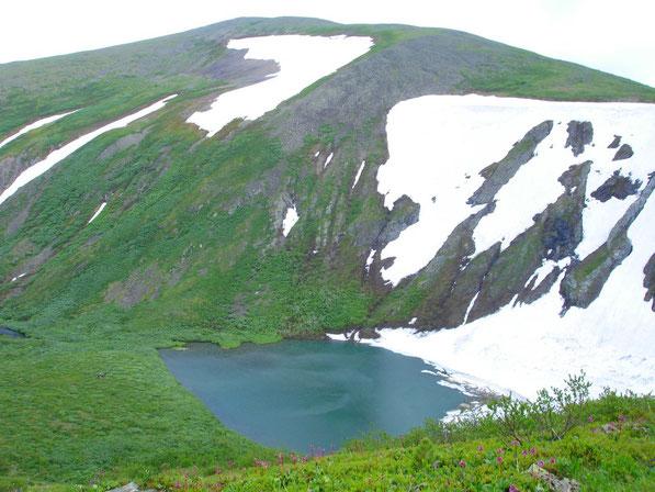гора Заозёрная (Верхнее озеро) 25 июня 2011 года