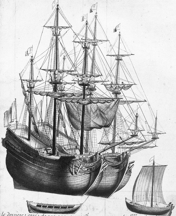 Type de navires armés à la pêche à la morue à Terre-Neuve