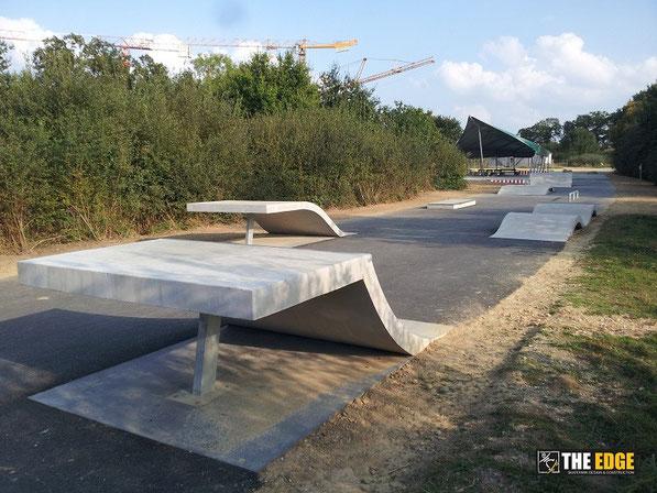 THE EDGE Skatepark Design & Construction - Spot St Jacques de la Lande