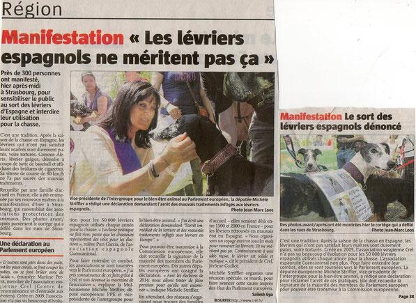 Article dans la presse régionale