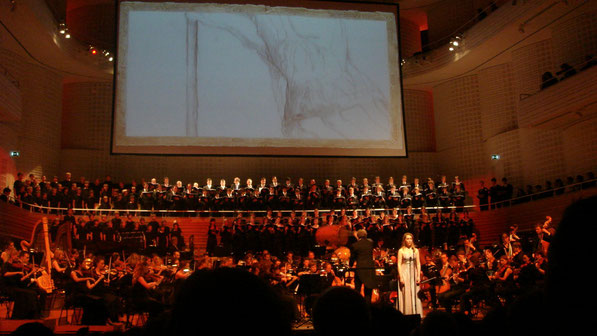 Unsere erste Aufführung der Lord Of The Rings Symphony, 2007