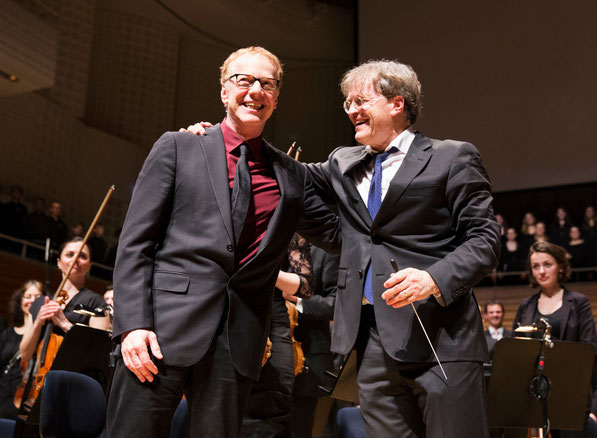 Danny Elfman & Ludwig Wicki (Foto: Nique Nager)