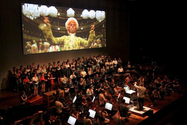 Generalprobe zu Amadeus Live im Congress Innsbruck (Foto: Livio Schürmann)