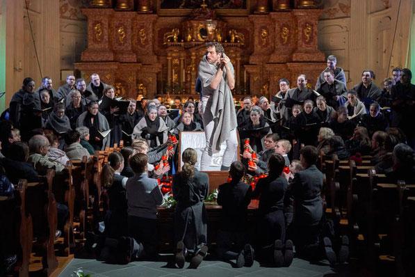 Faust-Szenen im Luzerner Theater (Foto: Ingo Hoehn, www.dhphoto.ch)