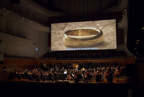"Weltpremiere von ""The Fellowship Of The Ring"" im KKL Luzern (Foto: Priska Ketterer)"