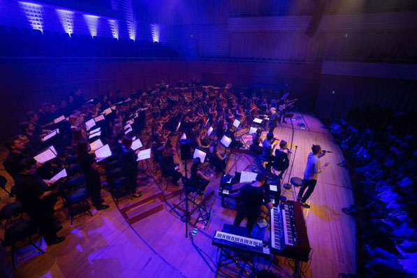 Konzert mit Lo & Leduc und dem 21st Century Orchestra (Foto: Boris Macek, Radio Pilatus)