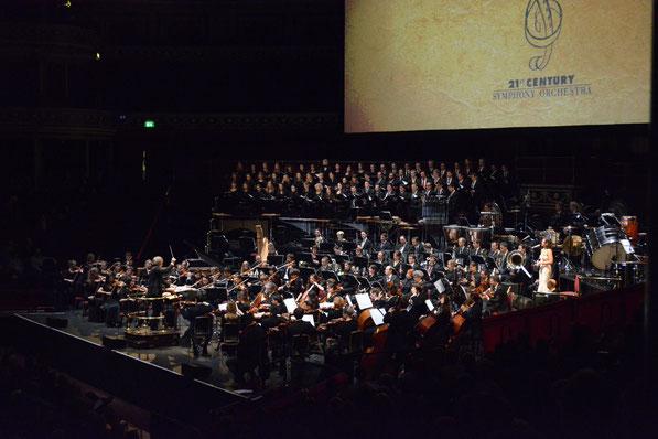 Western Music in Concert in der Royal Albert Hall in London, am 11. März 2016 (Foto: Vera Frey)