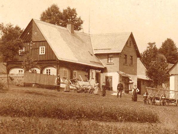 Hohenwald - Haus Nr. 22 - 1914
