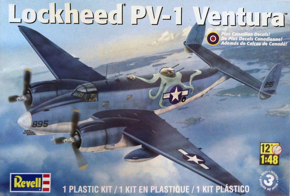 Lockheed PV-1 Ventura - Revell kit (2011) scale 1:48 + PE Eduard detail set + Resin parts by Lone Star Models + Eduard Brassin Pratt & Whitney RD2800 + MWP  qui sotto i links diretti per le gallerie