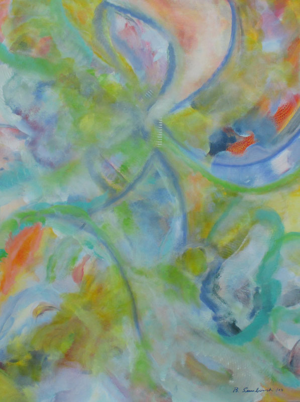 Visionelle Kunst - Britta Sembowski - LEBENSFREUDE - Spirituelle Kunst - Acrylmalerei - Unikat kaufen - zest for life