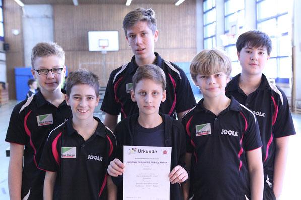 1. Platz WK III/1: Dietrich-Bonhoeffer-Gymnasium Weinheim