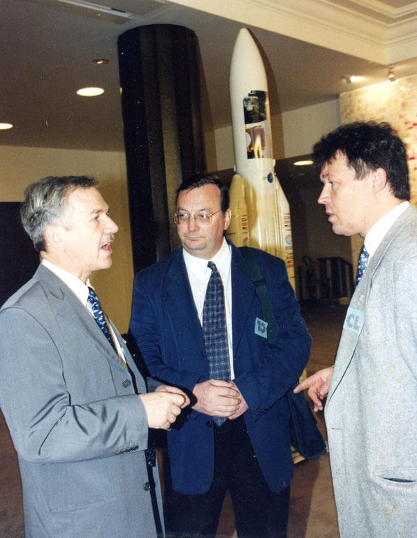 Jean-Pierre Fouquet avec Christian Lardier et Christophe Bonnal