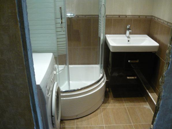 Перепланировка ванны в 137 сер с заменой всех труб