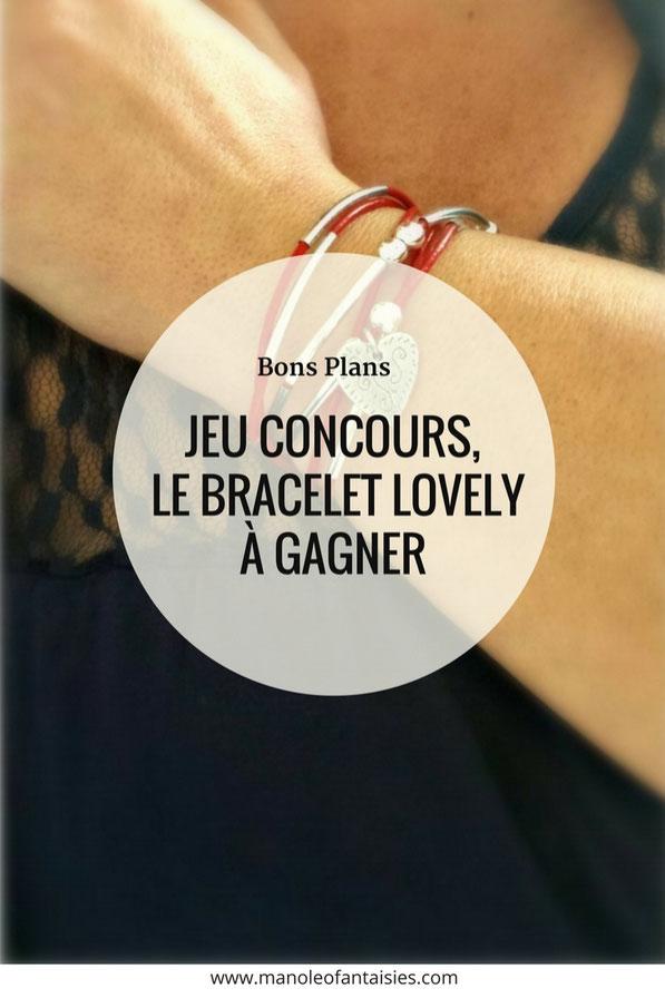 LOVELY - bracelet transformable cuir rouge et personnalisable en cuir bijou 2 en 1 breloque coeur