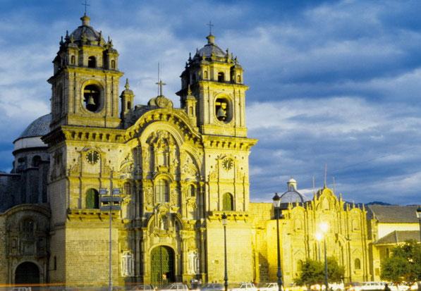 Kirche La Compania in Cusco