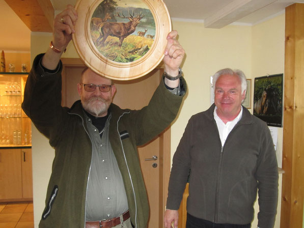 Wolfram Walther errang die Ehrenscheibe