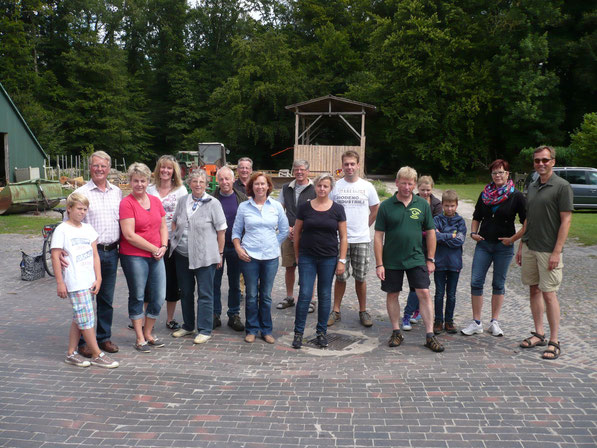 Treffen und Start auf dem Kosterhof Grabhorn