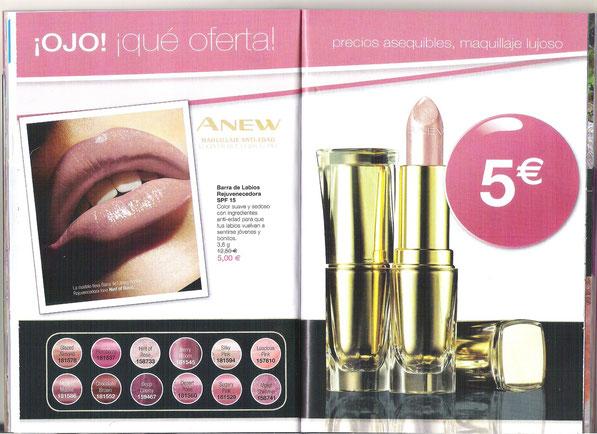 Anew barra de labios Rejuvenecedora SPF 15