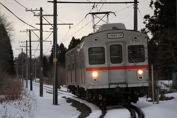 十和田観光電鉄 最後の冬