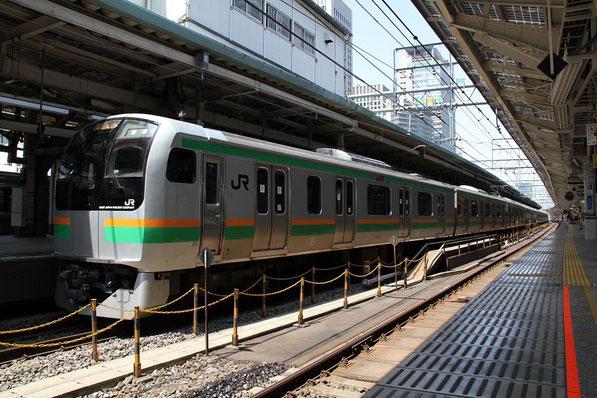 東海道線 湘南色のE217