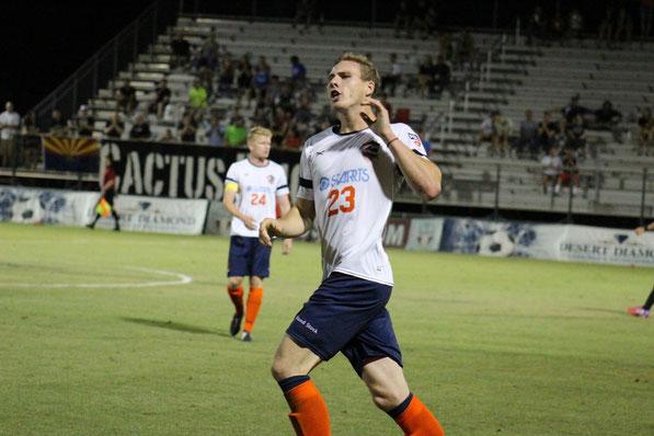 USL Phoenix Rising FC USL PDL Matthew Hurlow San Diego Zest FC サンディエゴゼストFC