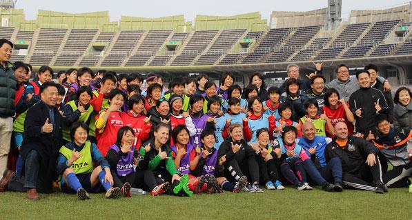 米国大学女子サッカーセレクションキャンプ