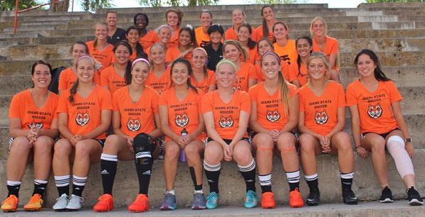 アメリカ女子サッカー留学 アイダホ州立大学 スポーツ奨学金