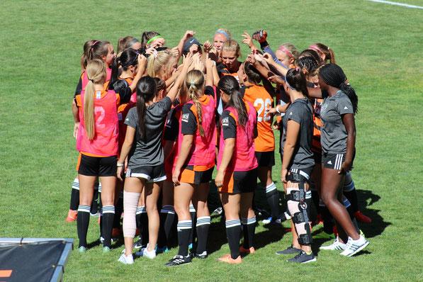 米国大学サッカーキャンプ 女子サッカー アメリカ 大学 奨学金