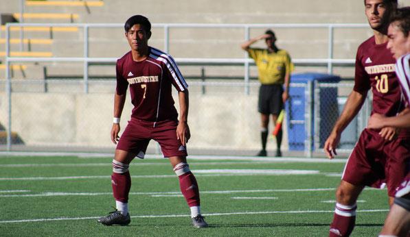 アメリカ サッカー留学 米国大学サッカーセレクション 日本人留学生