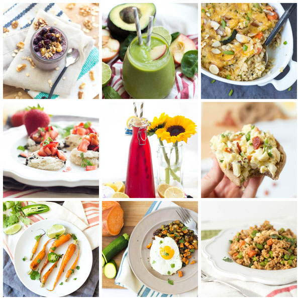 Food photography samples from Registered Dietitian Amber Ketchum of Homemade Nutrition