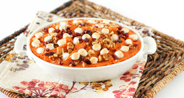 Easy swaps for a healthier sweet potato casserole