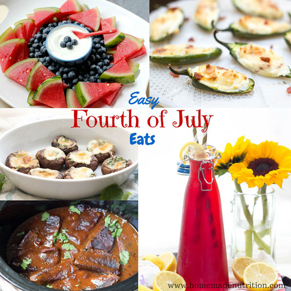 Happy Fourth of July weekend!!  If you're headed to a BBQ or party to celebrate this weekend, here are some tasty ideas to share with family and friends!