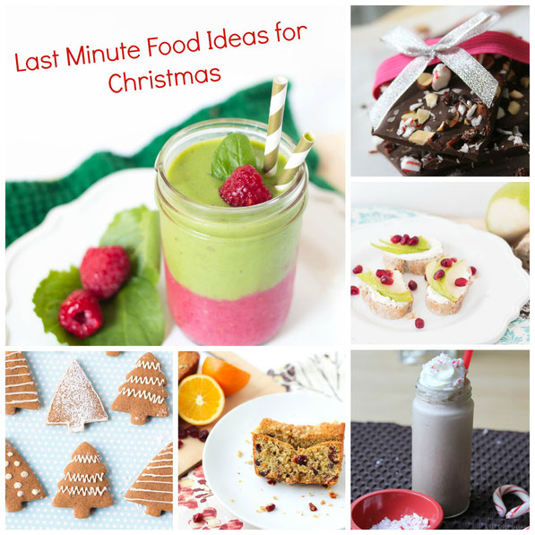 Last Minute Christmas Food Ideas - Homemade Nutrition - Nutrition ...