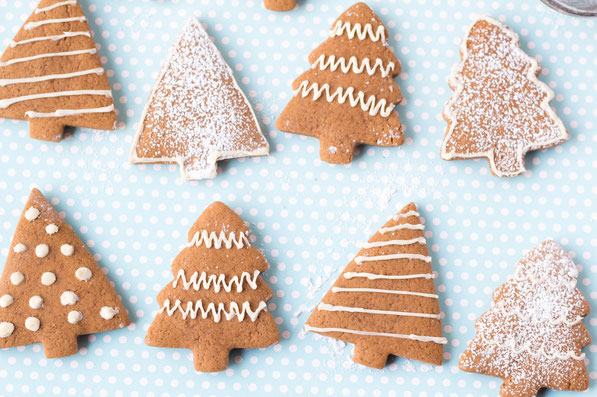 Healthy Soft Gingerbread Cut Out Cookie Recipe