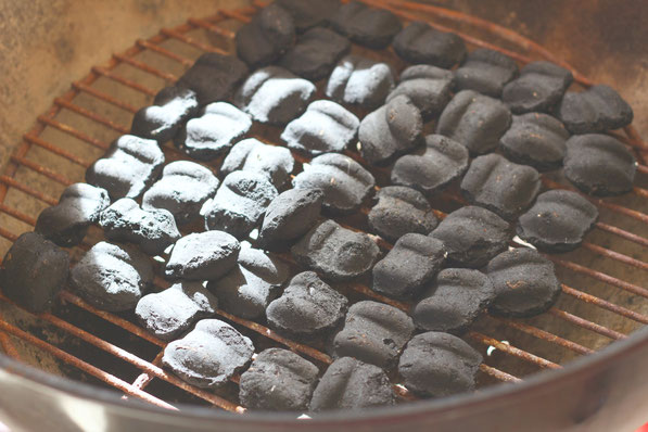 How to properly start a charcoal pit - easy tutorial here! Use this technique to grill the perfect steak every time!