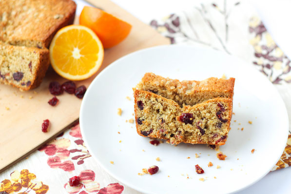 Amazing vegan cranberry orange oatmeal bread recipe!