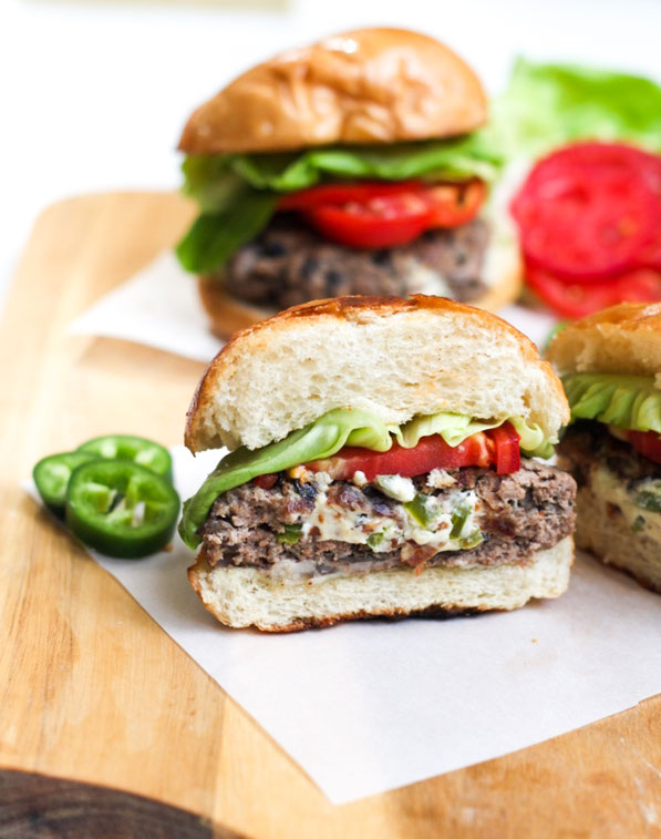 Jalapeno Popper Stuffed Beef And Mushroom Sliders Homemade Nutrition Nutrition That Fits Your Life