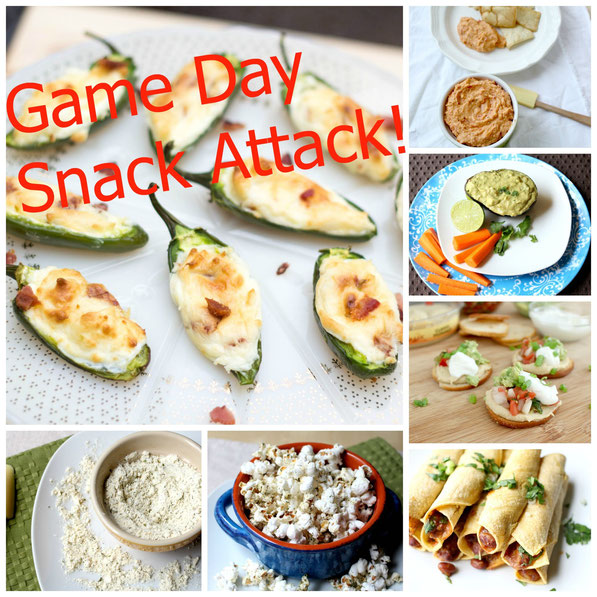 Healthier game day snack recipes and ideas! Perfect for appetizers!