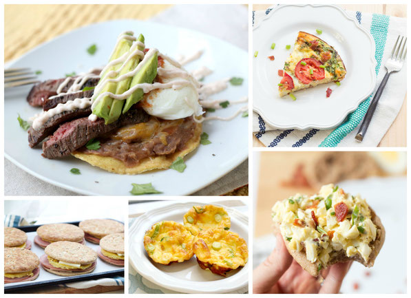 Easy (plus healthy) family-family favorite egg recipes!