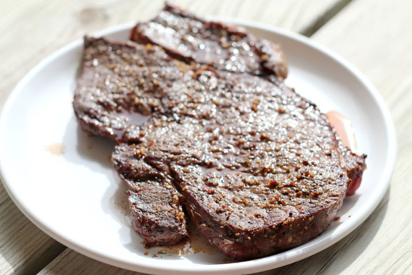 Learn how to grill the perfect steak!  It takes just a few simple steps and simple technique to perfect results every time!