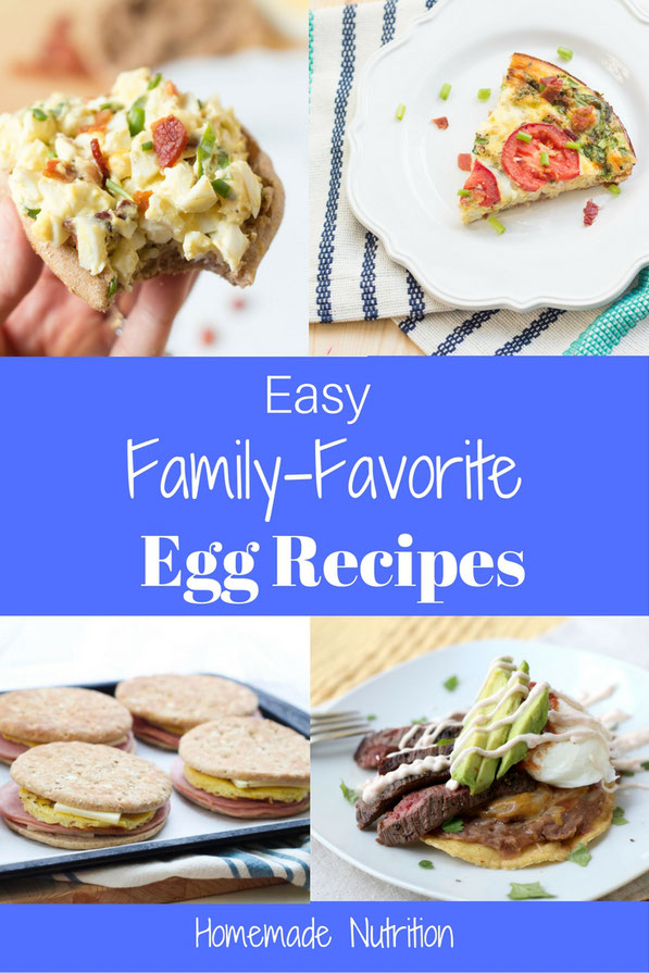 Easy healthy egg recipes the whole family will love!