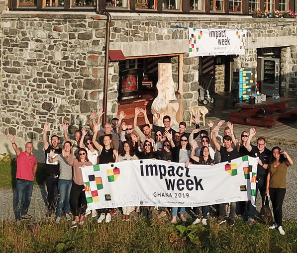 Impact Week Ghana — Preparations and Team Building in the Swiss Alps
