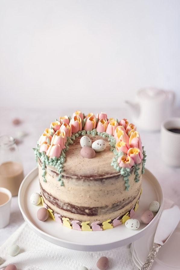 Österliche Baileys-Torte