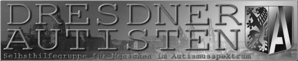 Linkbanner DRESDNER AUTISTEN (graustufen) 600x124px