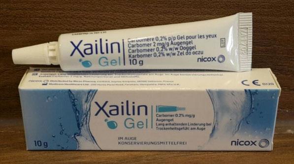 Xailin Gel (Sicca Syndrom, Trockene Augen)