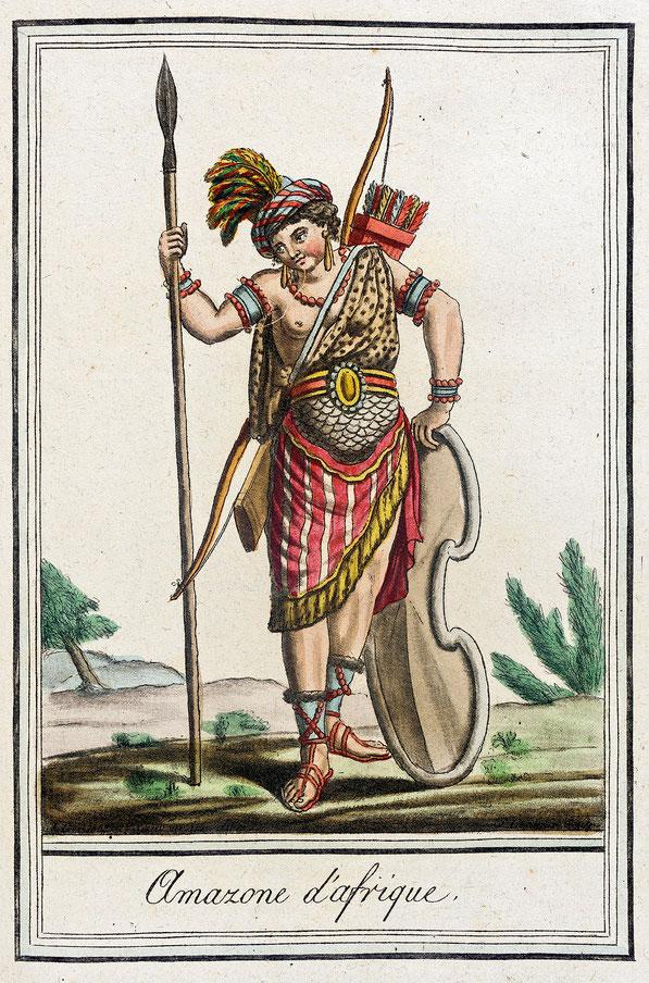 Costumes de Différents Pays, 'Amazone d'Afrique' (2)