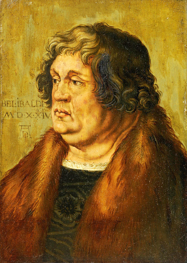 Портрет Pirckheimer Виллибальд