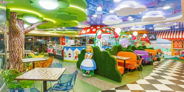 Открытие детского кафе