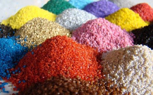Производство цветного щебня и крошки декоративной