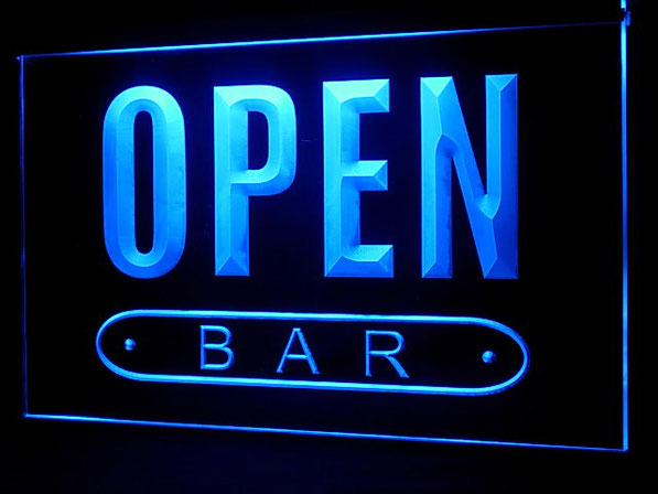 Открываем бар